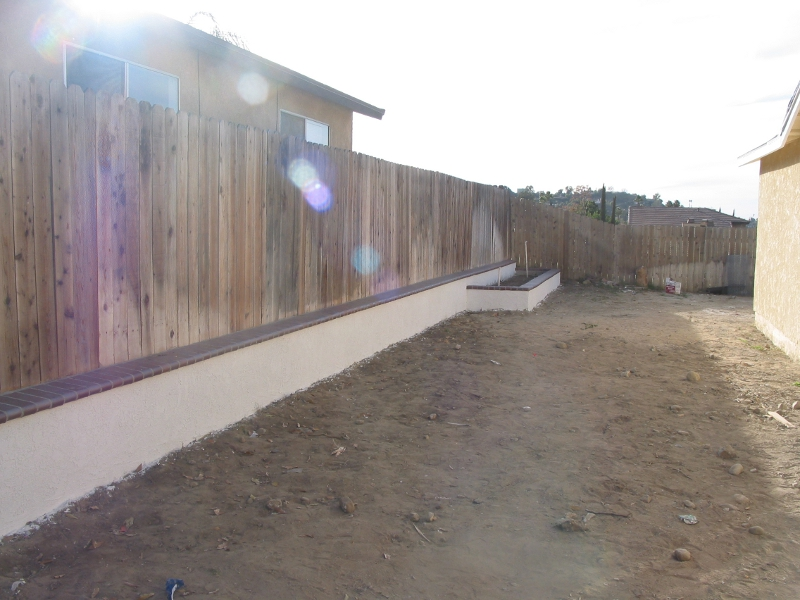 Cement Retaining Wall Redlands Home Services