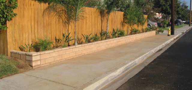 A Slump Stone Garden wall installation is a great way to border off your garden or raise your garden a little for foot traffic protection or just a nice place...