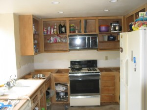 Kitchen Redone Before Image